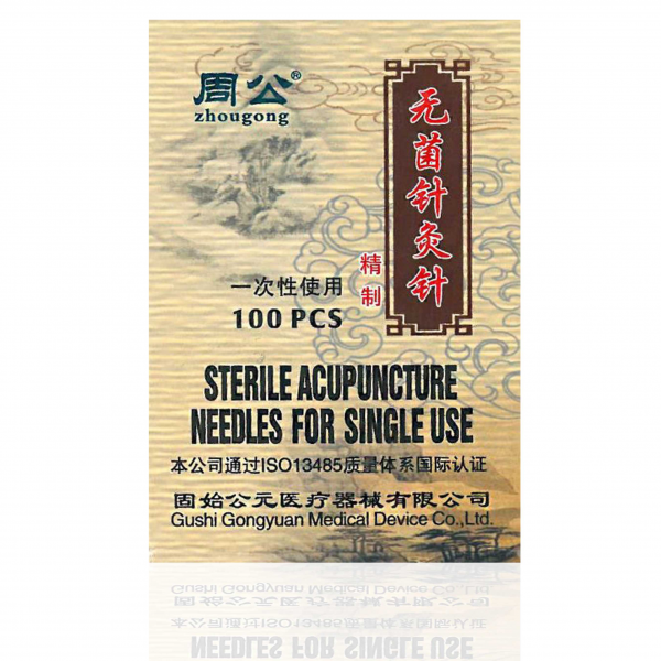 100 Zhougong® Akupunkturnadeln 0,18 x 13 mm