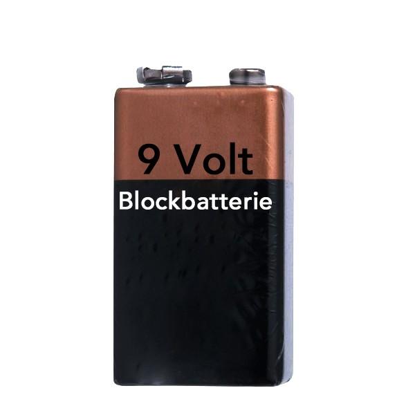9 V Blockbatterie Alkaline
