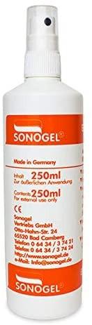 Elektroden-Kontaktspray SONOGEL 250ml
